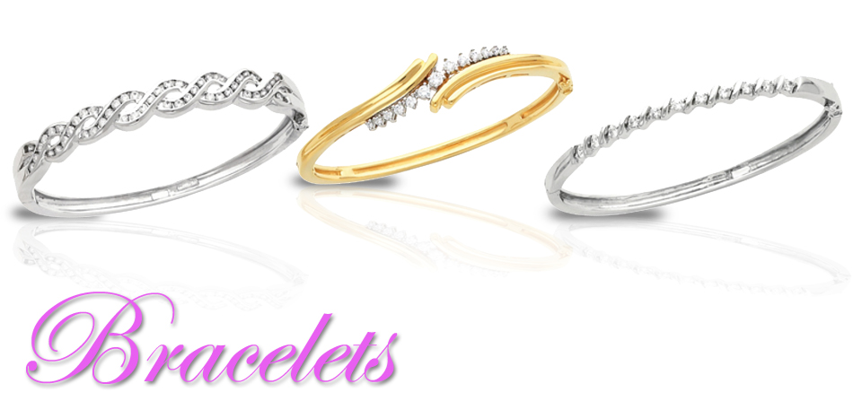 Diamond Bracelets-Gold & Platinum