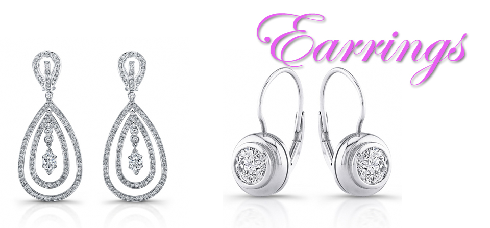 Earrings-Diamond & Precious Stones