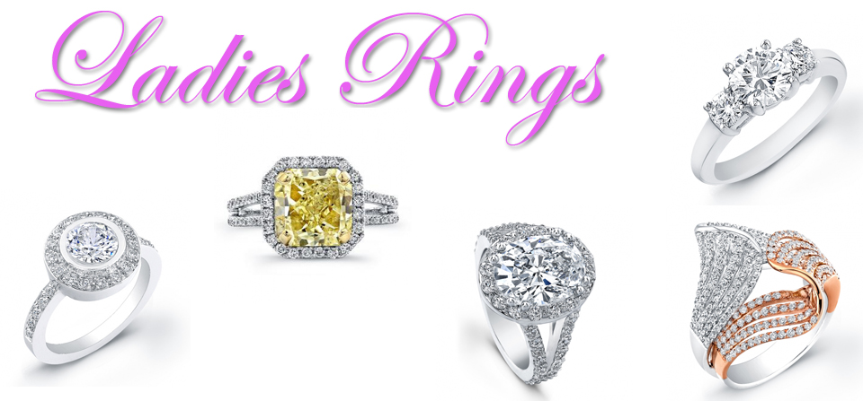 Ladies Rings, Diamond Bridal Engagement Rings