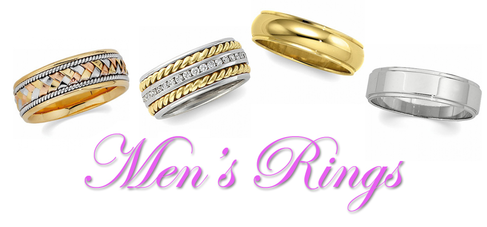 Men's Diamond Rings and Wedding Bands