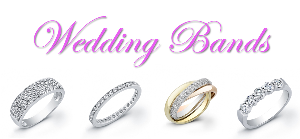 Wedding Bands-Diamond & Precious Stones